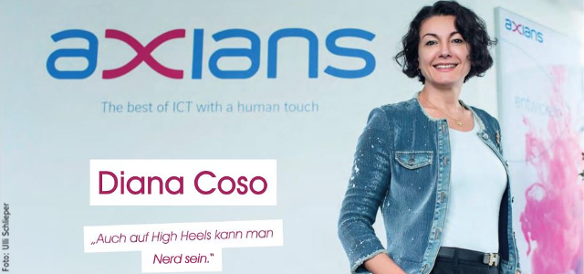 """Nerd"" auf High Heels – Diana Coso im FRIZZ Magazin Interview"